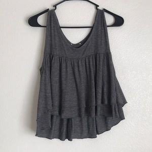 Pacsun cropped tank! Super cute and good as new.